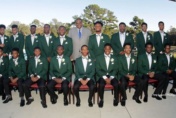 Young men's leadership training culminates with Links Beautillion